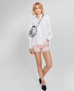 Różowe szorty FEMESTAGE Eva Minge z bawełny