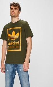 Zielony t-shirt Adidas Originals