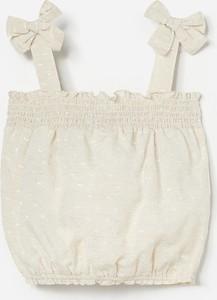 Bluzka dziecięca Reserved bez rękawów