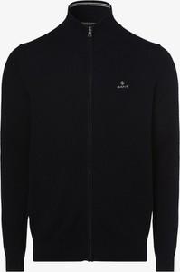 Granatowy sweter Gant z bawełny