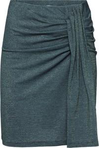 Zielona spódnica EDITED z dżerseju w stylu casual
