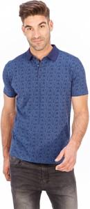 T-shirt Lanieri Fashion z nadrukiem z krótkim rękawem