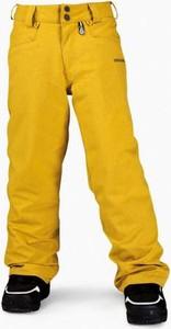 Żółte spodnie dziecięce Volcom