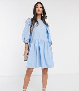Niebieska sukienka Vero Moda Petite