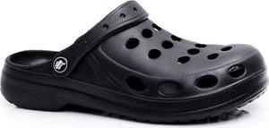 Czarne klapki Flameshoes