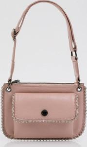 Różowa torebka Monnari średnia