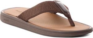 Brązowe buty letnie męskie Aldo w stylu casual