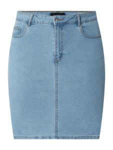 Niebieska spódnica Vero Moda w stylu casual