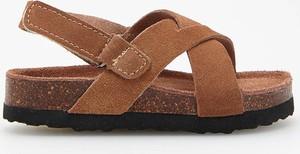 Brązowe buty dziecięce letnie Reserved na rzepy