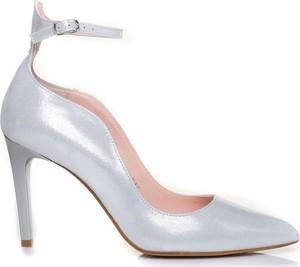 beb6b78d9646d buty ślubne srebrne - stylowo i modnie z Allani