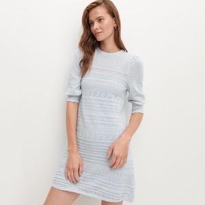 Niebieska sukienka Reserved z krótkim rękawem mini
