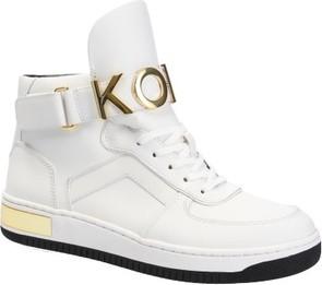7444e24ca2fbd Sneakersy Michael Kors na koturnie w młodzieżowym stylu sznurowane