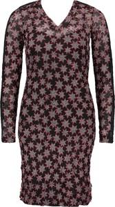 Sukienka Sandwich mini prosta z dekoltem w kształcie litery v