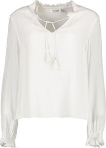 Bluzka Lavard w stylu boho z dekoltem w kształcie litery v z tkaniny