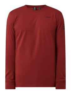 Czerwona koszulka z długim rękawem G-Star Raw
