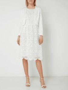 866867248c Sukienka Esprit z okrągłym dekoltem z długim rękawem