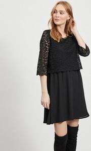 Sukienka Vila mini w stylu casual rozkloszowana