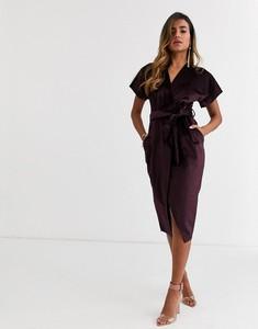 Fioletowa sukienka Closet