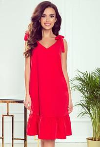 Sukienka NUMOCO z dekoltem w kształcie litery v bez rękawów