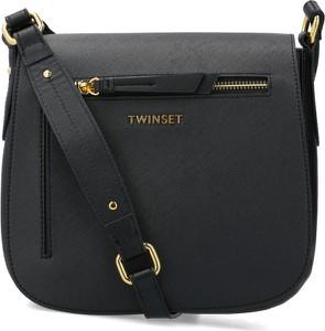Czarna torebka Twinset na ramię średnia