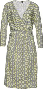 Sukienka bonprix bpc selection w stylu casual z długim rękawem