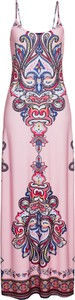 Sukienka bonprix BODYFLIRT boutique maxi z okrągłym dekoltem w stylu casual