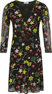 Sukienka Liu-Jo z dekoltem w kształcie litery v w stylu casual
