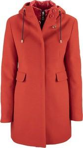 Pomarańczowy płaszcz Fay