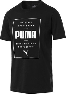 T-shirt Puma z tkaniny
