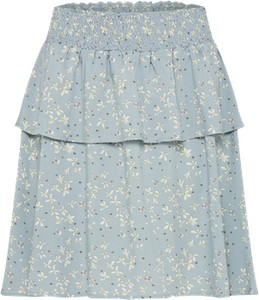 Niebieska spódnica broadway nyc fashion mini