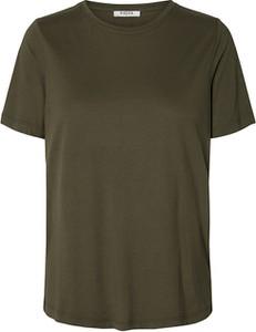 T-shirt Pieces w stylu casual z krótkim rękawem