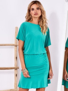Sukienka Factory Price mini z okrągłym dekoltem