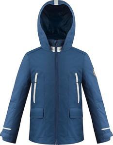 Niebieska kurtka dziecięca Poivre Blanc