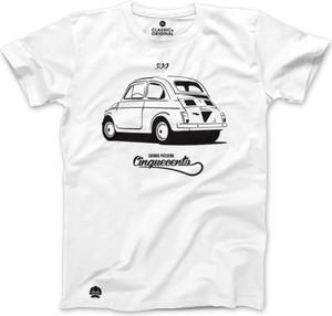 T-shirt sklep.klasykami.pl z nadrukiem z bawełny z krótkim rękawem