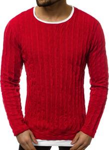 Czerwony sweter Ozonee