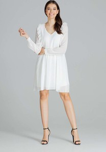 Sukienka Figl z szyfonu mini