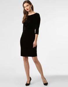 Sukienka Esprit mini z dżerseju z długim rękawem