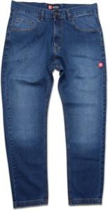 Jeansy Afrotica z jeansu