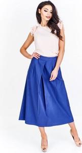 Niebieska spódnica Dejmieto maxi