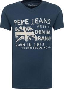 Koszulka dziecięca Pepe Jeans z bawełny