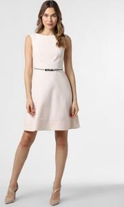 Sukienka comma, bez rękawów rozkloszowana mini