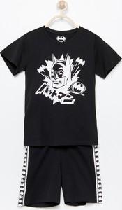 Czarna piżama Reserved dla chłopców