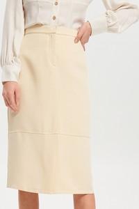 Żółta spódnica Reserved
