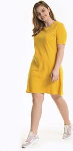 Sukienka Gate z bawełny z krótkim rękawem