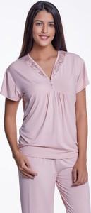 Fioletowa piżama Softcotton