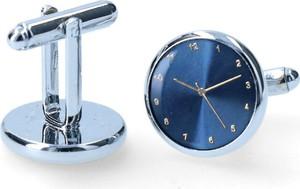 Dobrze Dodane spinka niebieskie zegarki ze wskazówkami