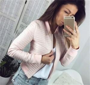 Różowa kurtka Venilla Boutique