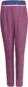 Fioletowe spodnie Patrizia Pepe