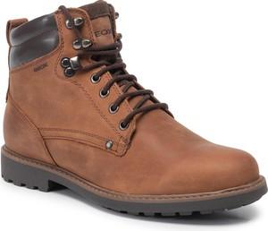 Buty zimowe Geox sznurowane