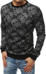 Czarna bluza Dstreet z nadrukiem